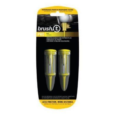 Brush Tee Yellow